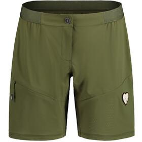 Maloja LindeM. Pantaloncini Multisport Donna, verde oliva